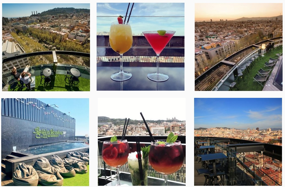 Top 10 Rooftop Bars In Barcelona